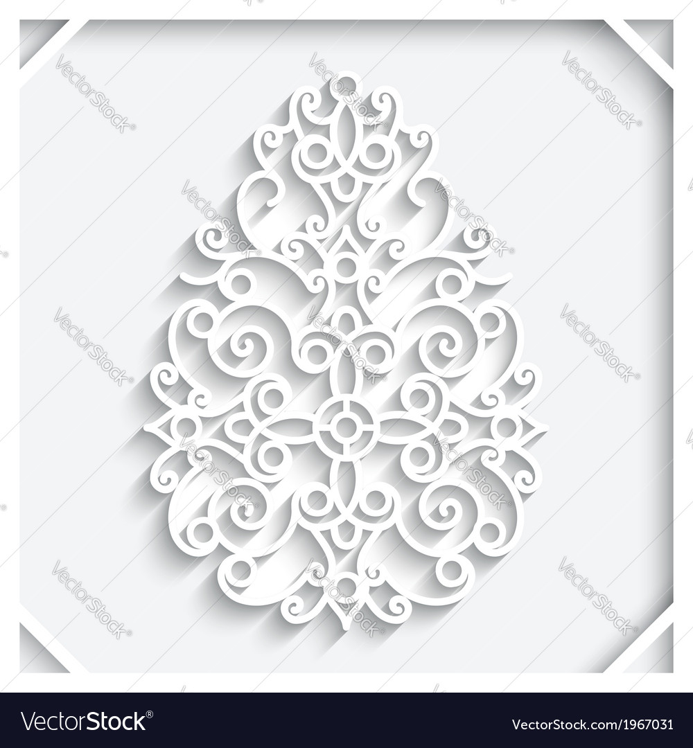 Paper egg vector | Price: 1 Credit (USD $1)