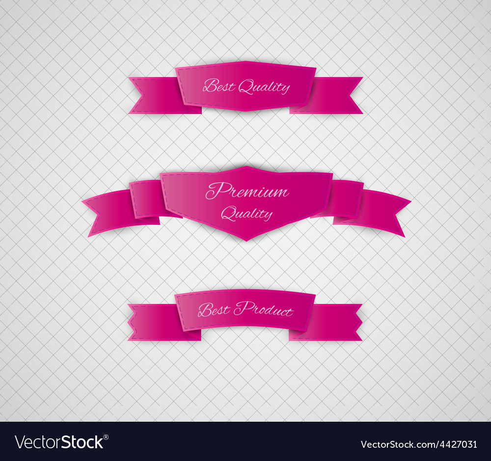 Red quality label vector | Price: 1 Credit (USD $1)