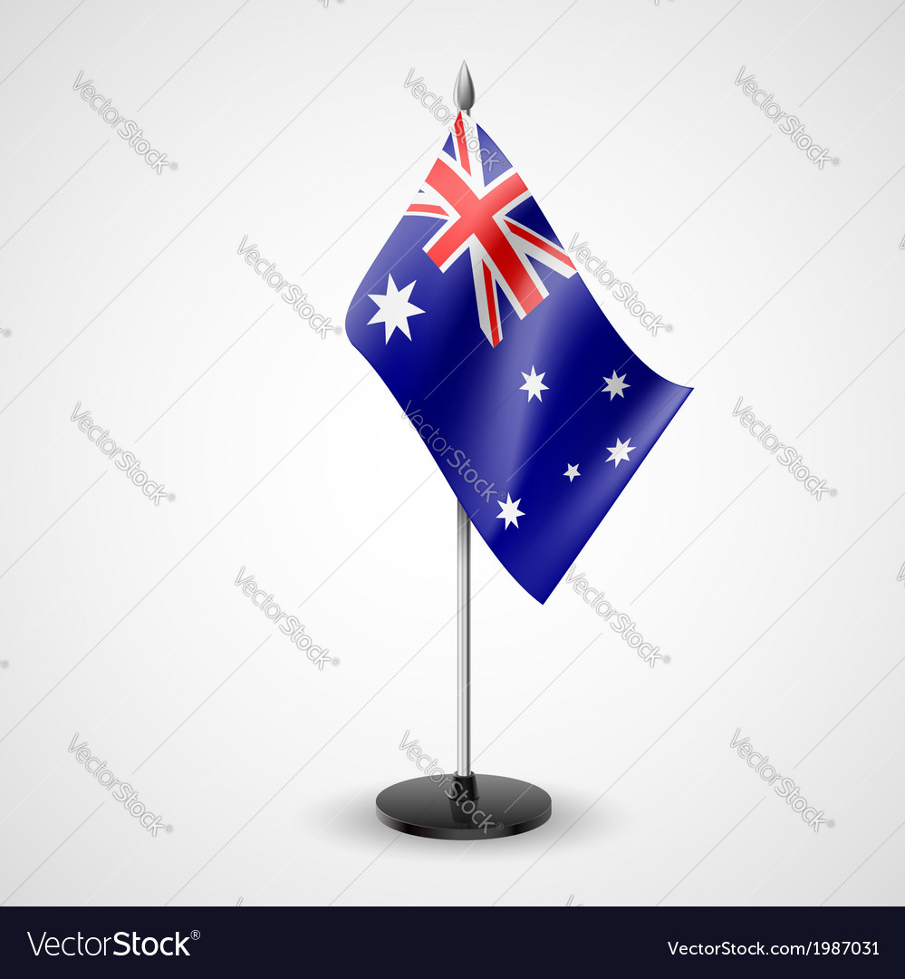 Table flag of australia vector | Price: 1 Credit (USD $1)