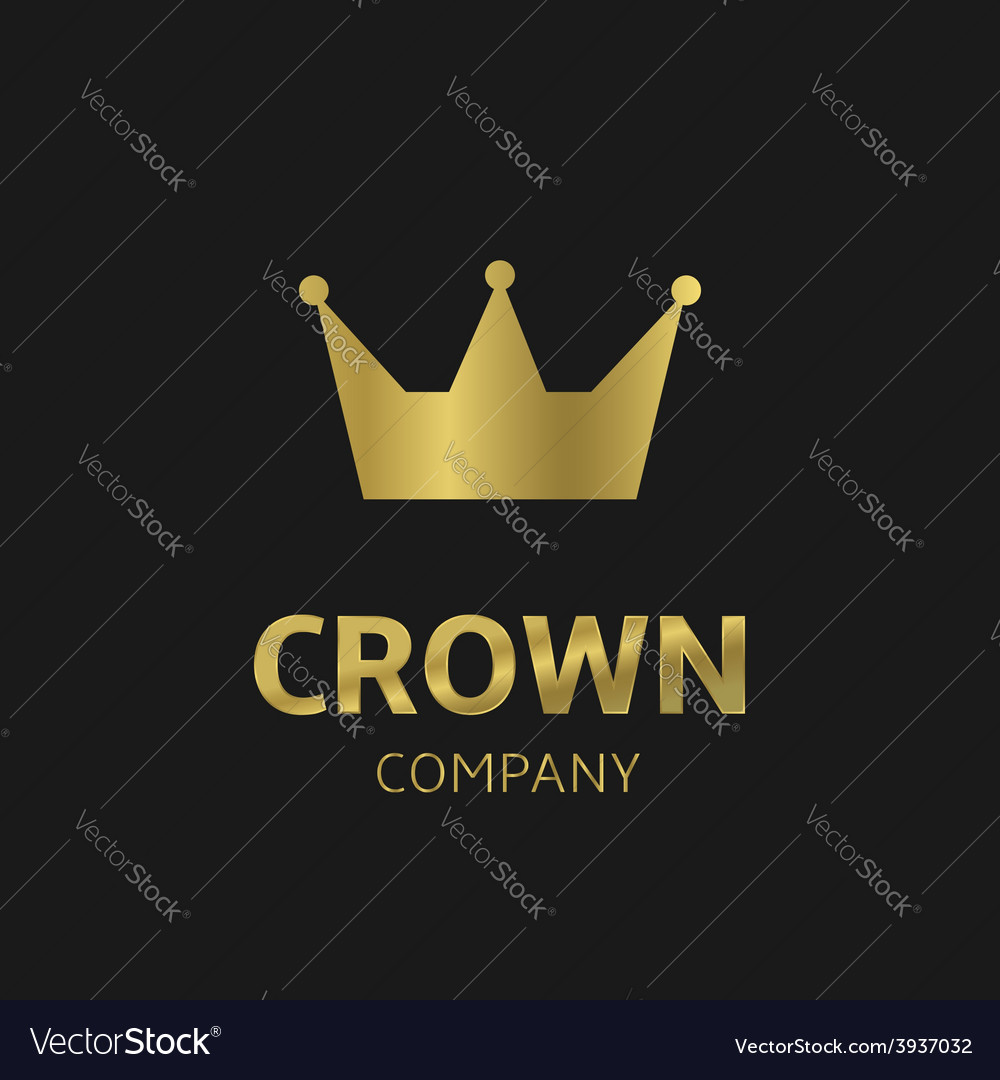 Crown company vector | Price: 1 Credit (USD $1)