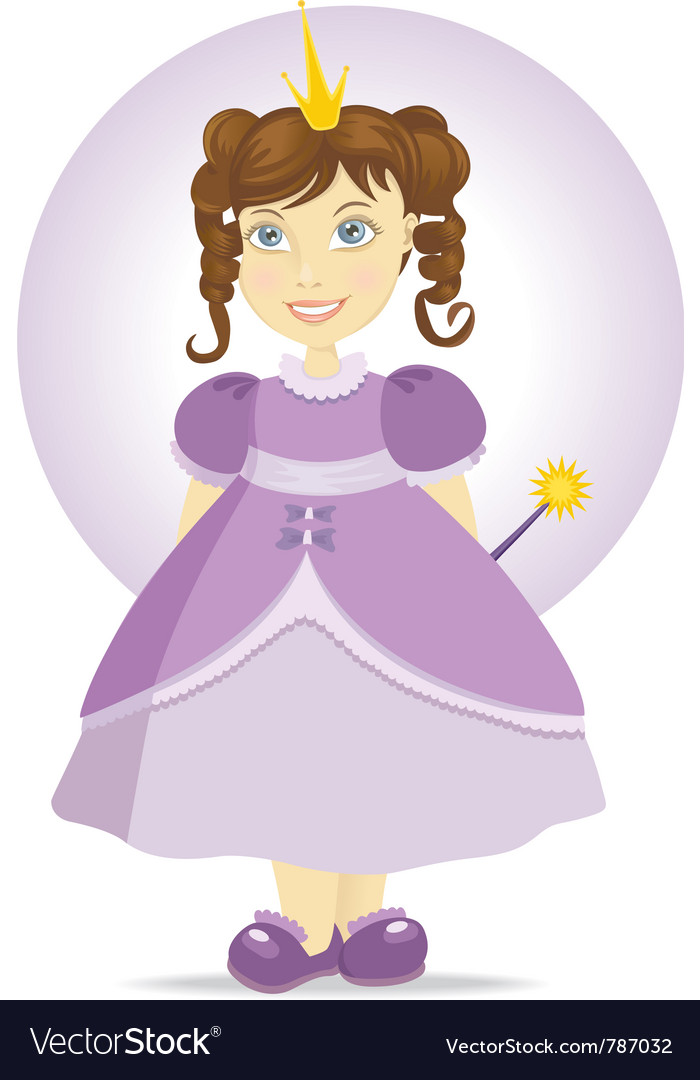 Fairy princess vector | Price: 3 Credit (USD $3)