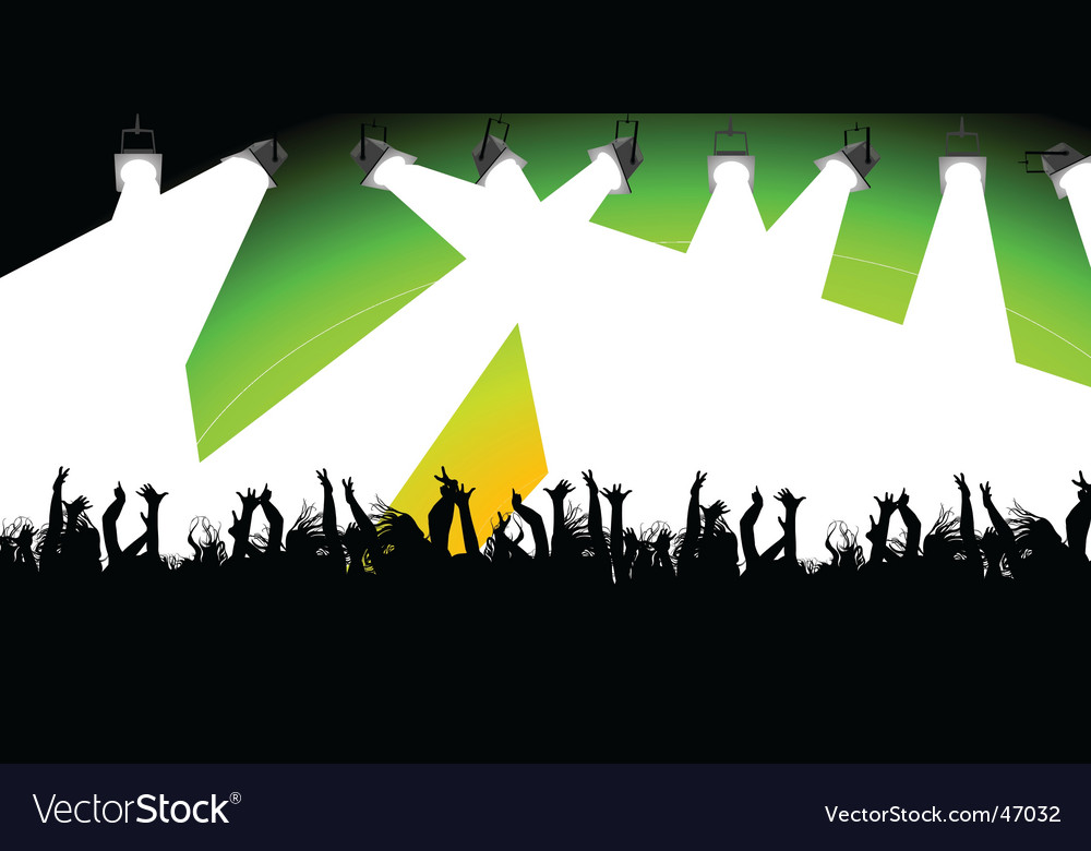 Nightclub scene vector | Price: 1 Credit (USD $1)