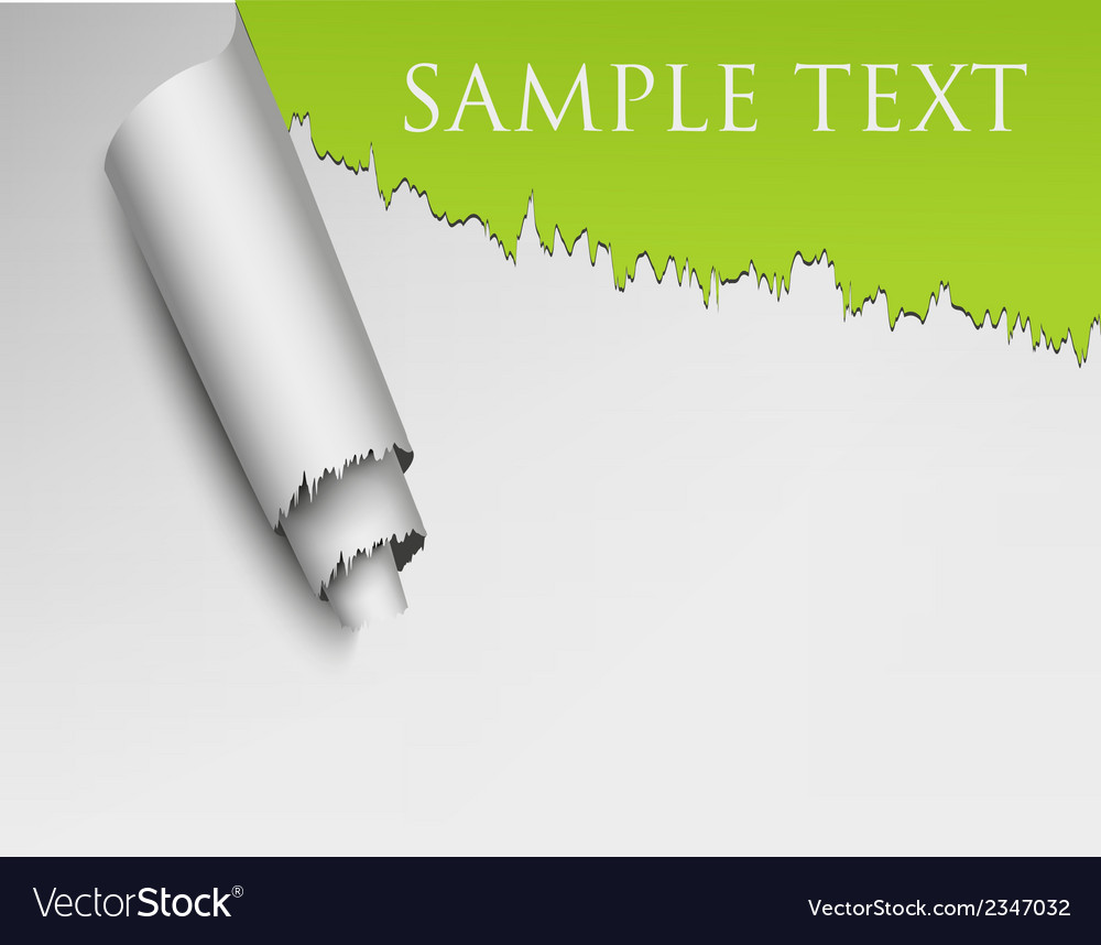 Ripped wall paper vector | Price: 1 Credit (USD $1)
