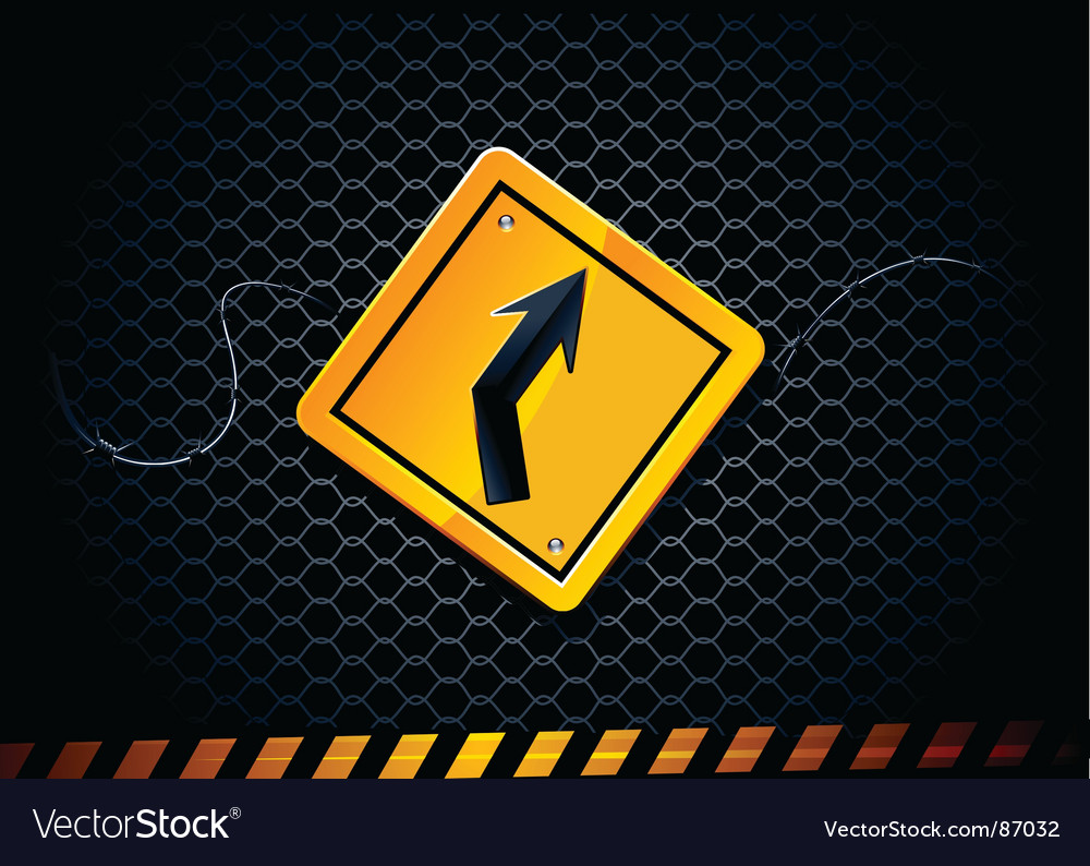 Road sign vector | Price: 3 Credit (USD $3)
