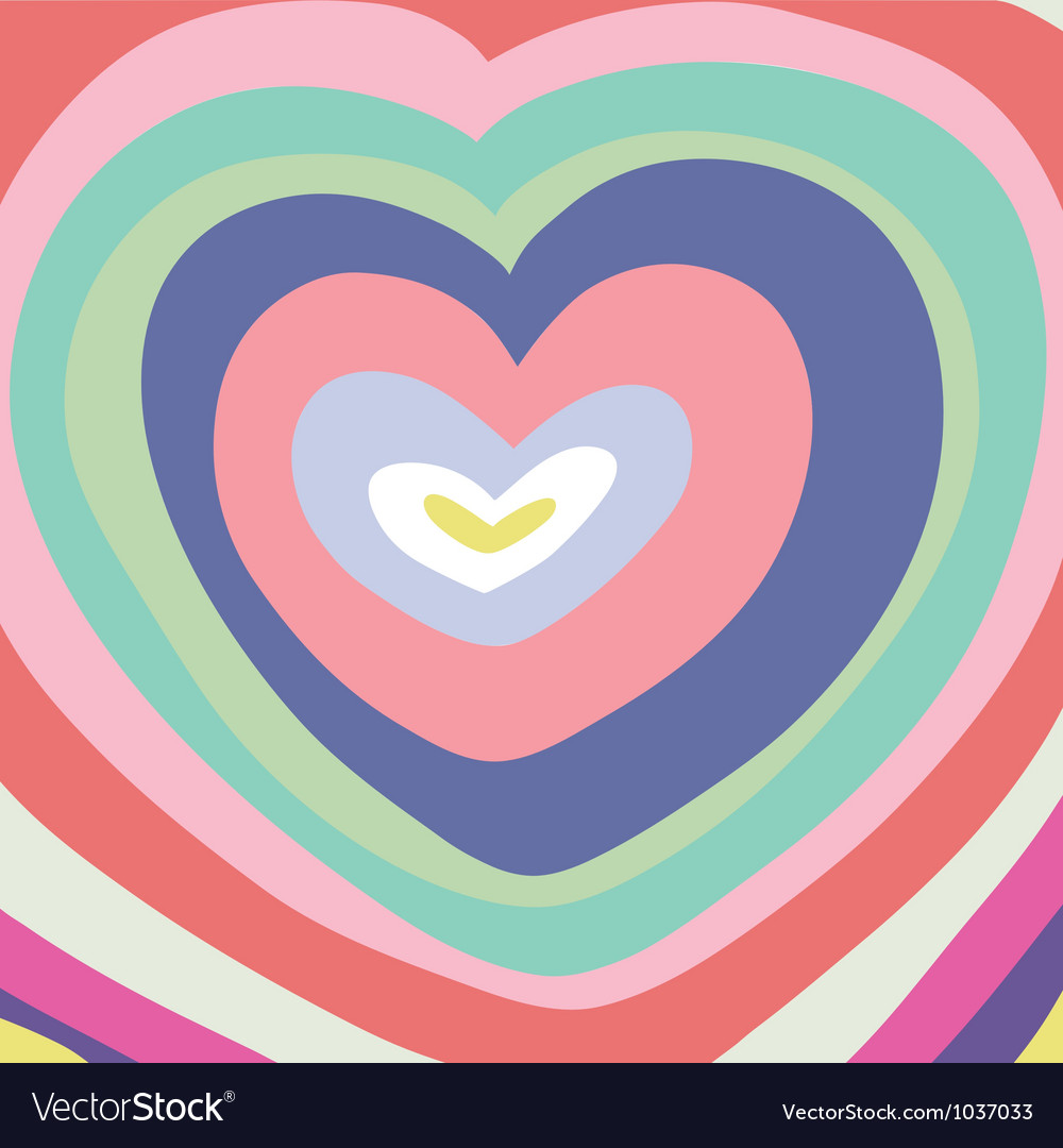 Abstraction-heart vector | Price: 1 Credit (USD $1)