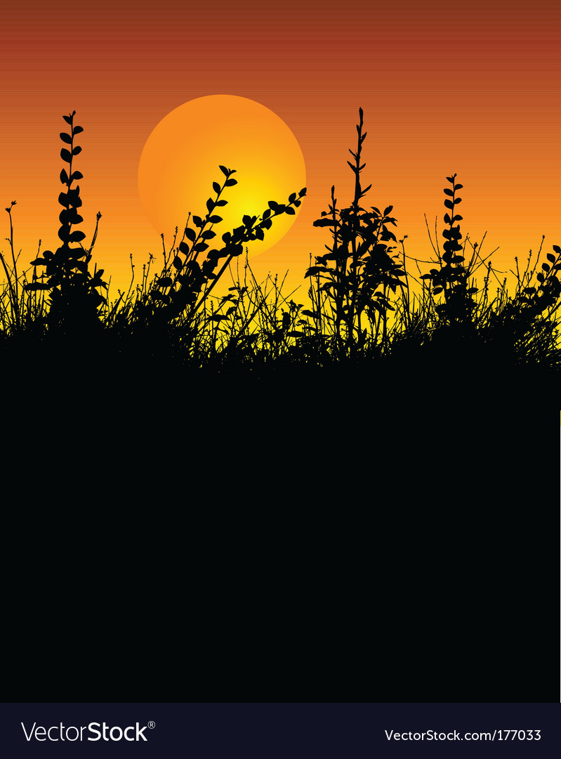 Foliage silhouette vector | Price: 1 Credit (USD $1)
