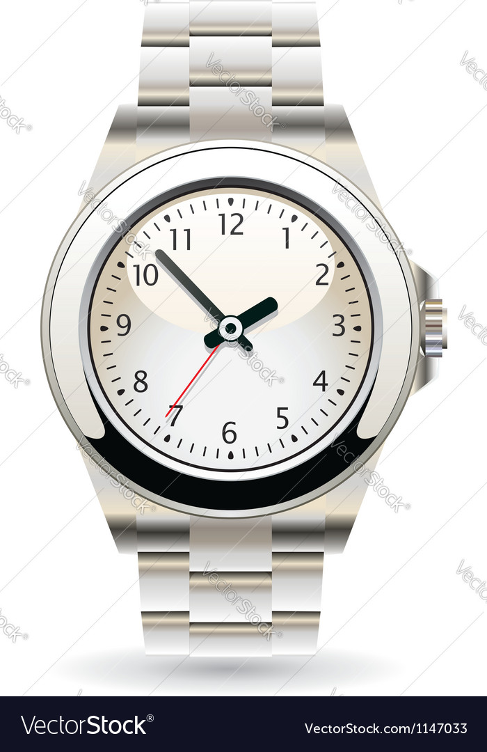 Wristwatch vector | Price: 3 Credit (USD $3)