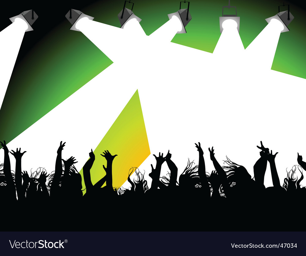 Rave party vector | Price: 1 Credit (USD $1)