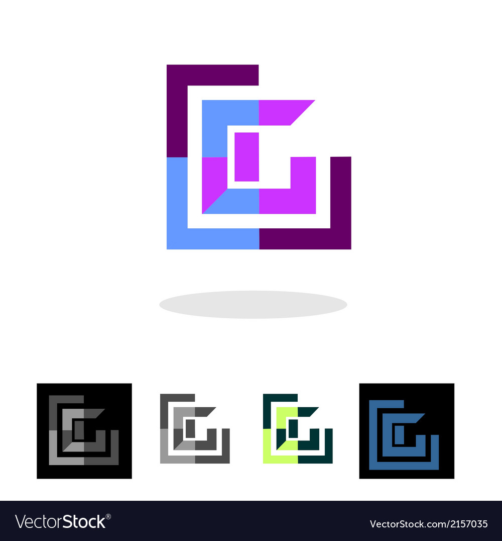 Abstract company logo and apps icon vector | Price: 1 Credit (USD $1)