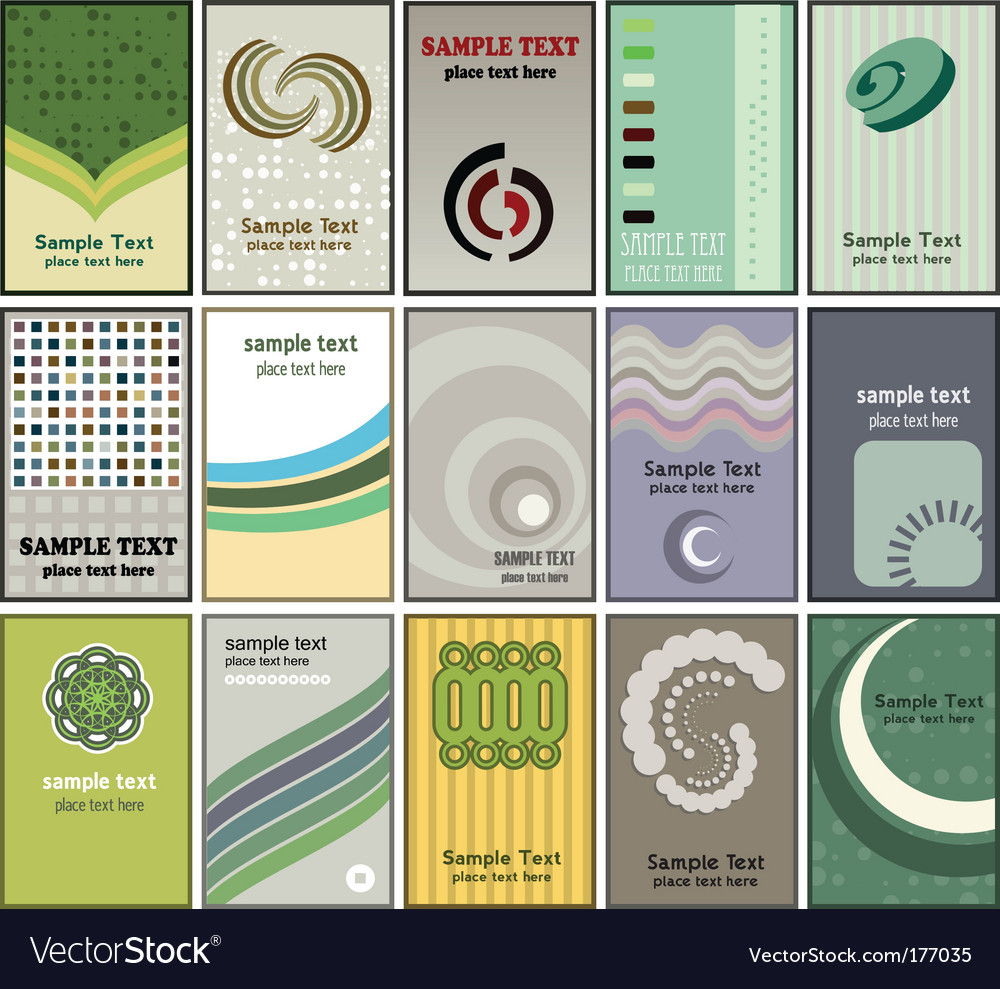 Business card designs vector | Price: 1 Credit (USD $1)