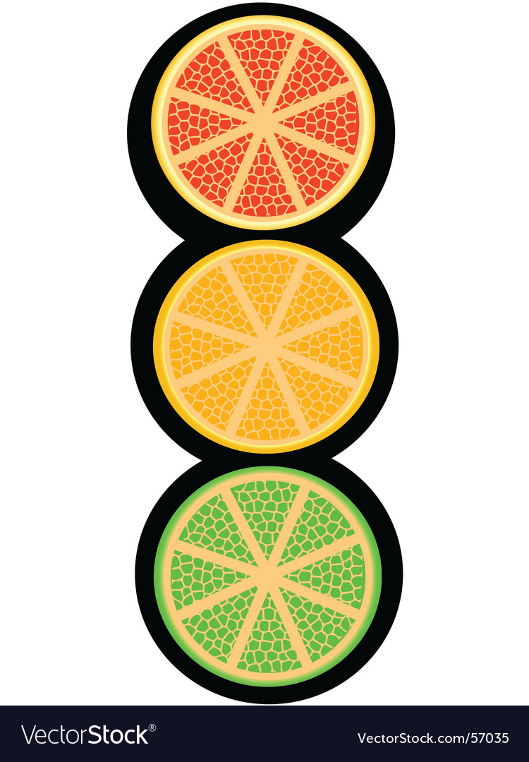 Fruity light signal vector | Price: 1 Credit (USD $1)