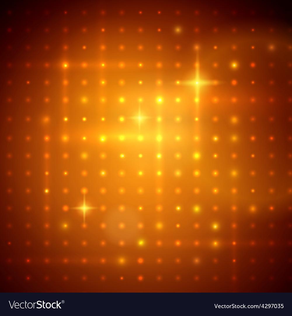 Golden disco lights vector | Price: 1 Credit (USD $1)