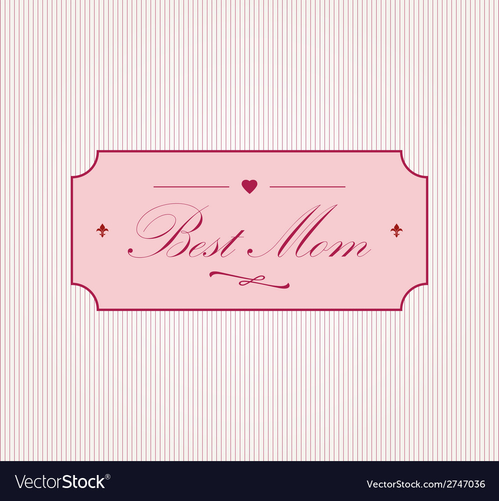 Happy motherss day vector | Price: 1 Credit (USD $1)