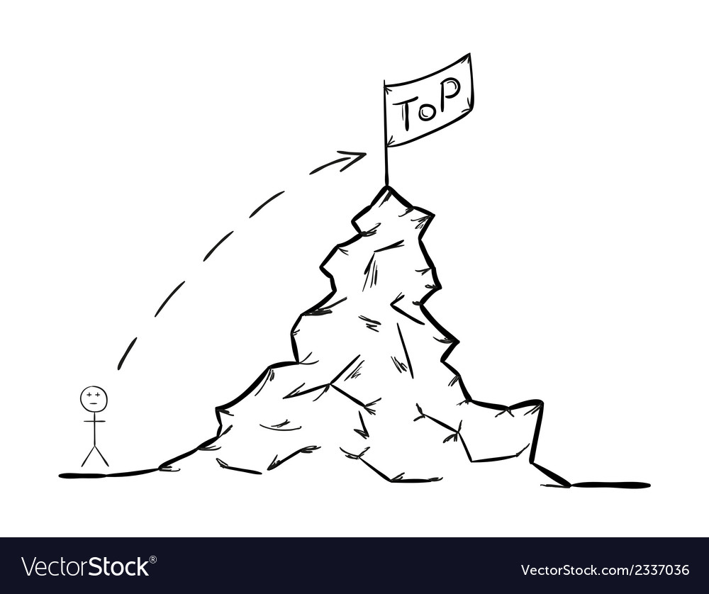 Rise to the top vector | Price: 1 Credit (USD $1)