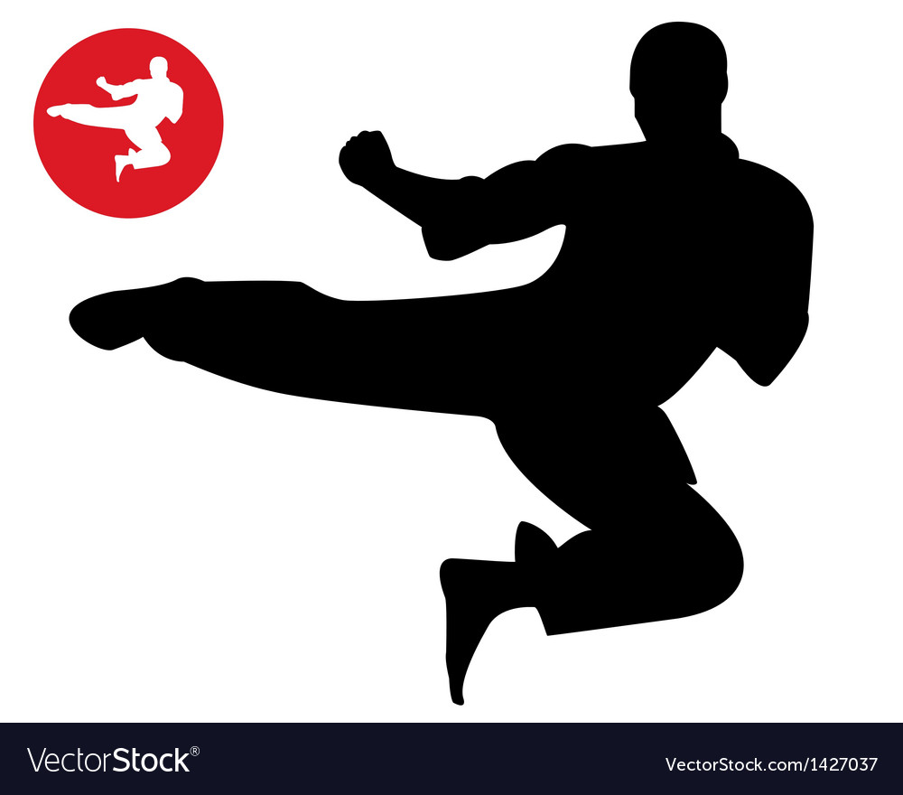 Karate in the jump vector | Price: 1 Credit (USD $1)