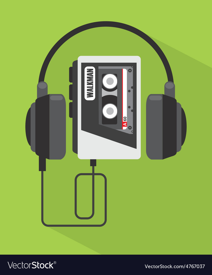 Music player vector | Price: 1 Credit (USD $1)