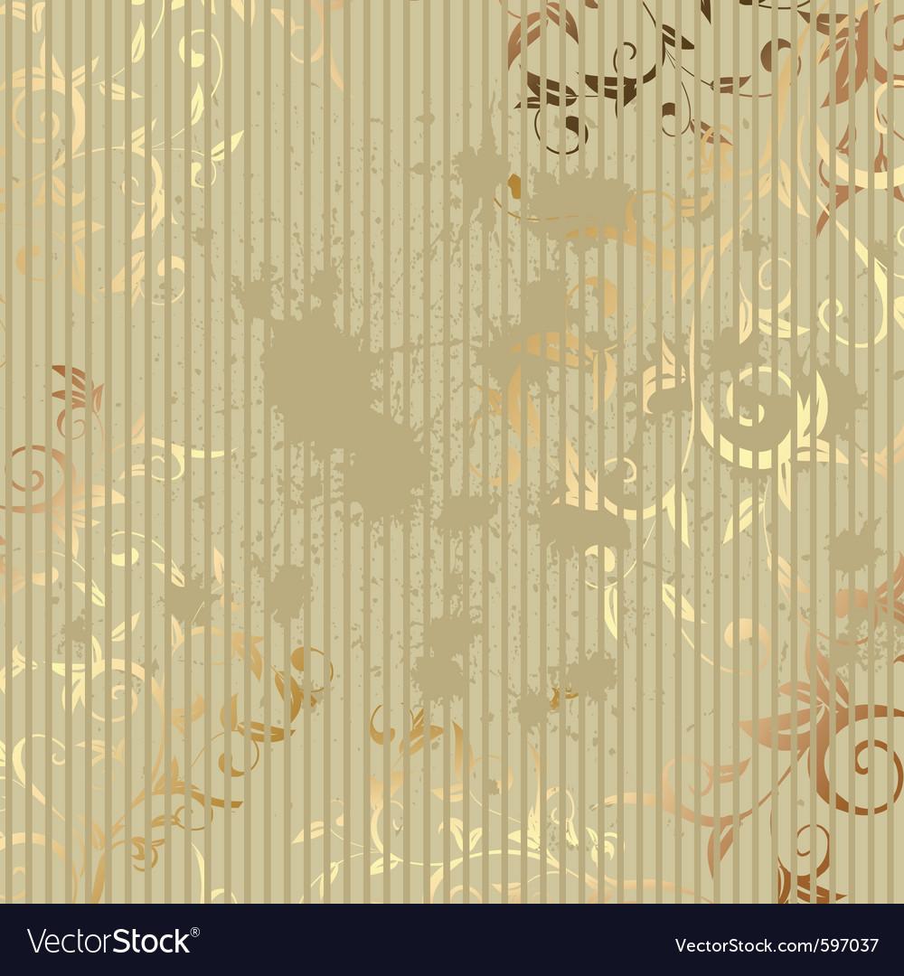 Vintage golden background vector   Price: 1 Credit (USD $1)