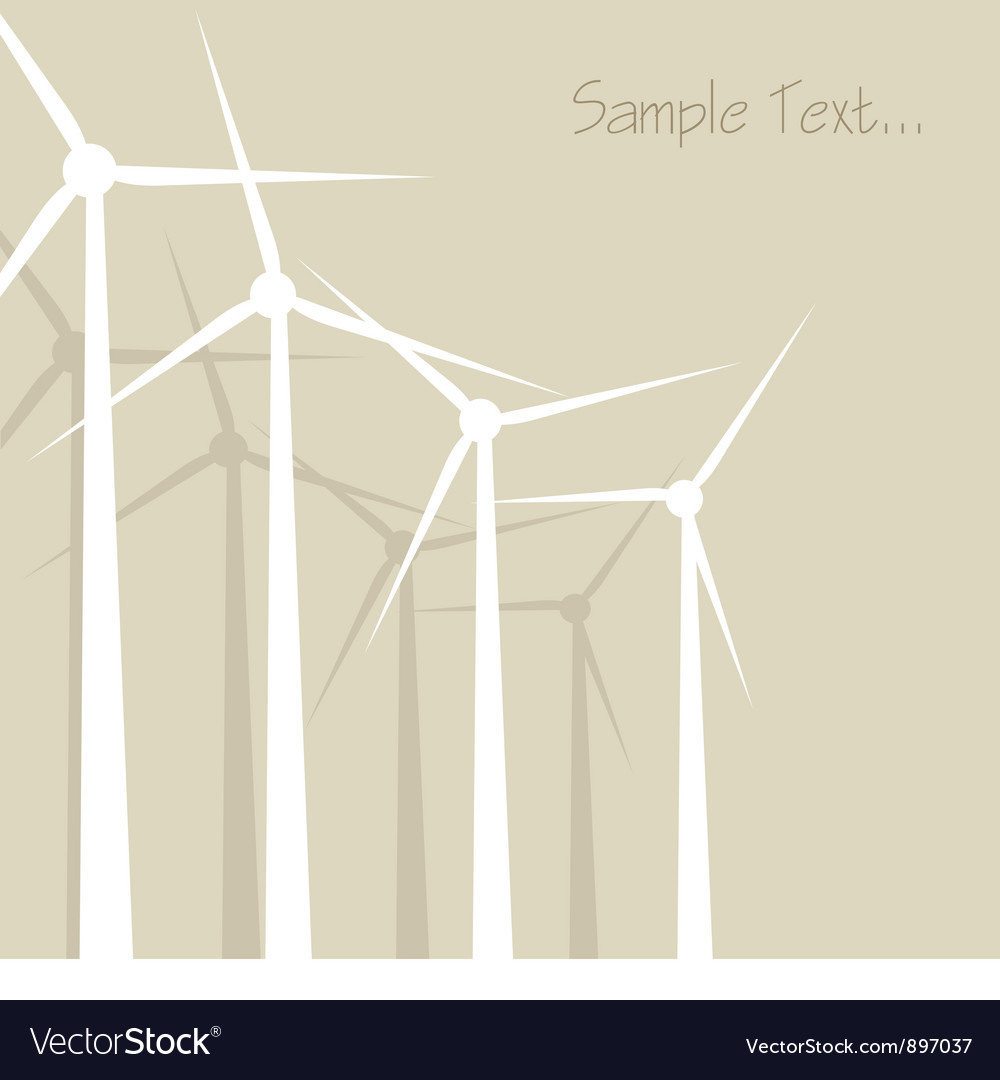 Windrad windmill windward background vector | Price: 1 Credit (USD $1)