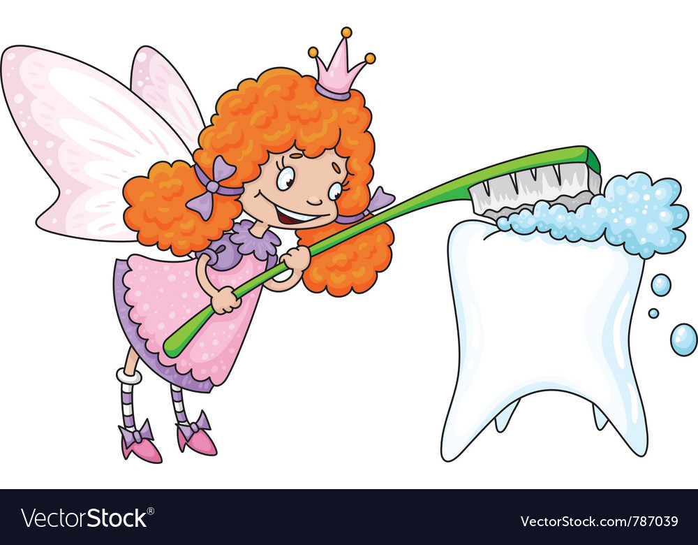 Cute tooth fairy vector | Price: 1 Credit (USD $1)