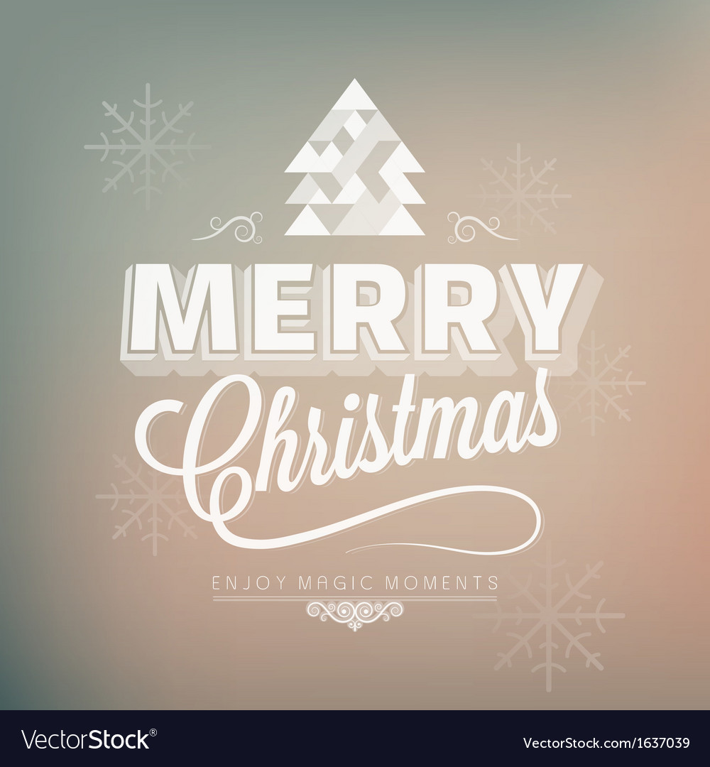 Holiday merry christmas new year vector   Price: 1 Credit (USD $1)