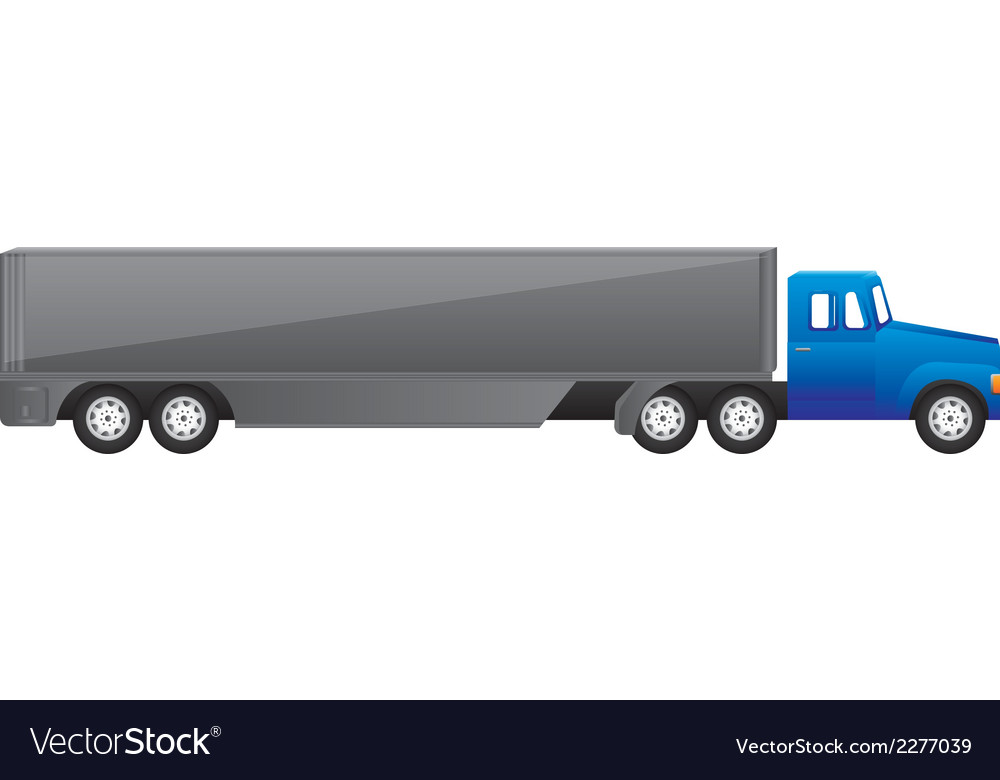 Large truck vector | Price: 1 Credit (USD $1)