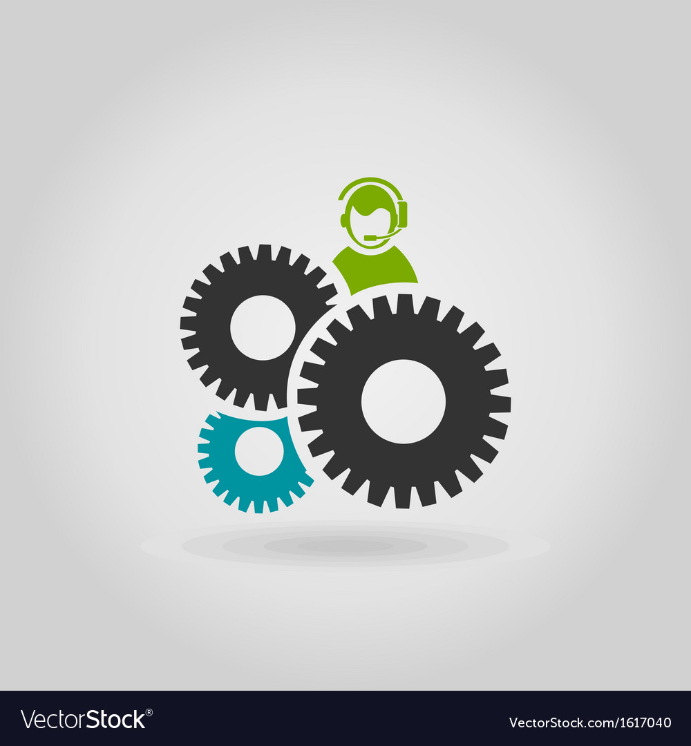 Gear wheel6 vector | Price: 1 Credit (USD $1)