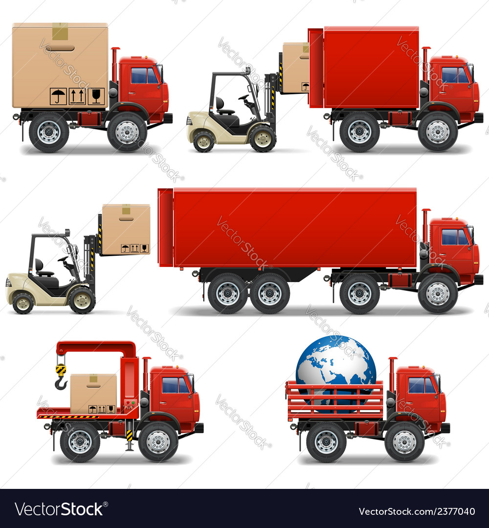 Shipment icons set 34 vector | Price: 3 Credit (USD $3)