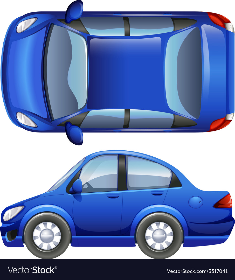 A sedan vehicle vector | Price: 1 Credit (USD $1)