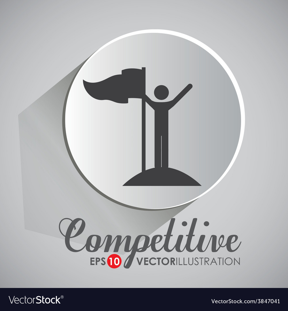 Competition design vector | Price: 1 Credit (USD $1)