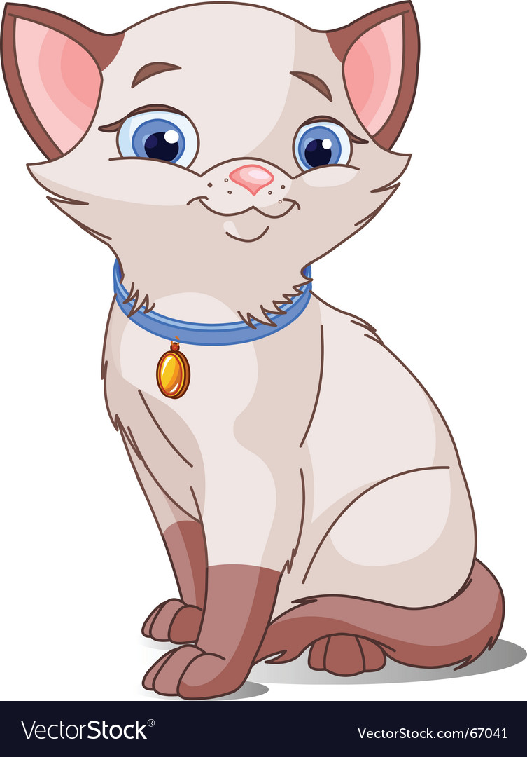 Cute cat vector   Price: 3 Credit (USD $3)