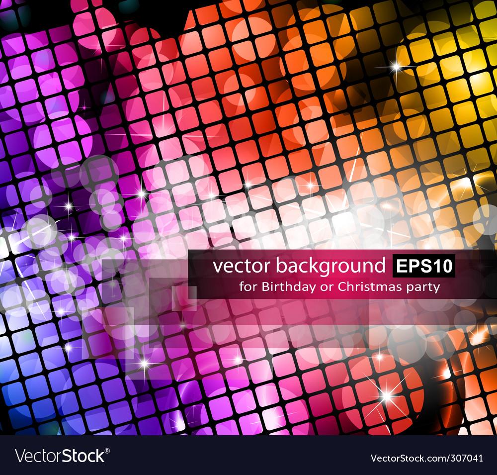 Graphic neon background vector | Price: 1 Credit (USD $1)