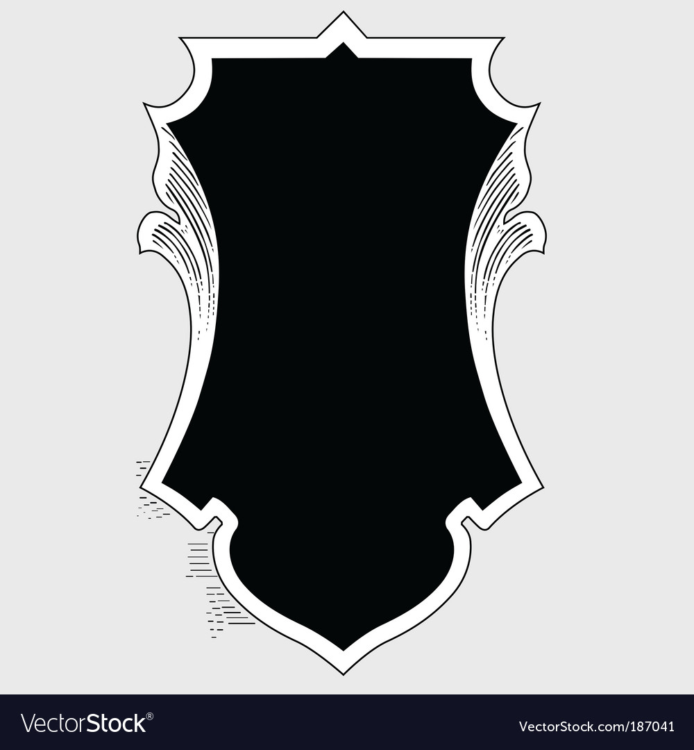 Ornate border vector | Price: 1 Credit (USD $1)