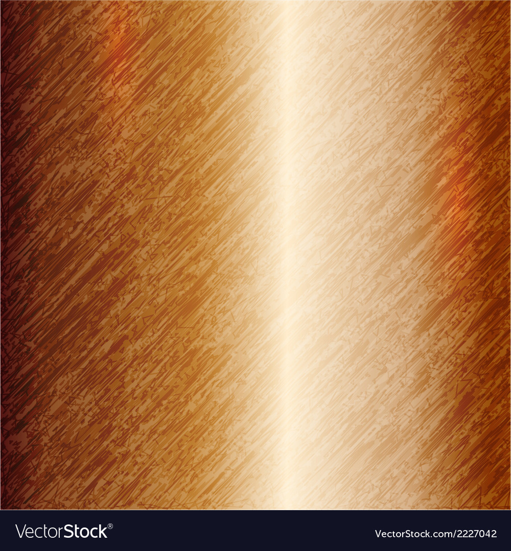 Abstract metallic copper background vector | Price: 1 Credit (USD $1)