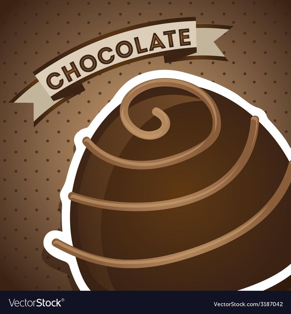 Chocolate design vector   Price: 1 Credit (USD $1)