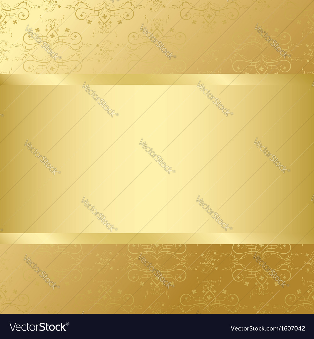 Golden card with golden texture and center vector | Price: 1 Credit (USD $1)