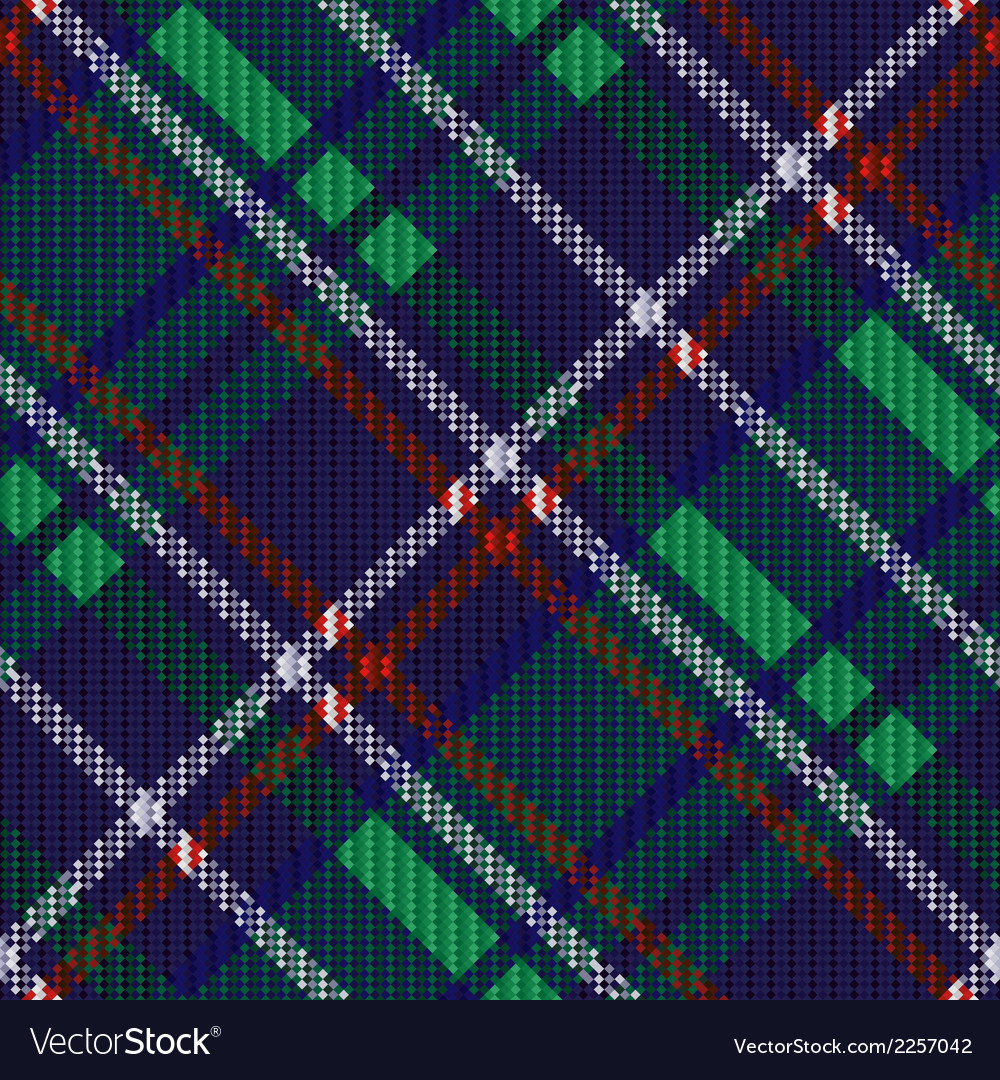 Seamless diagonal tartan texture vector | Price: 1 Credit (USD $1)