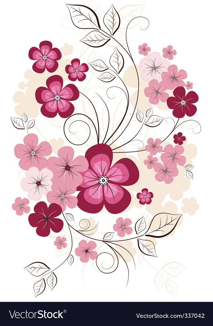 Spring isolated branch vector | Price: 1 Credit (USD $1)