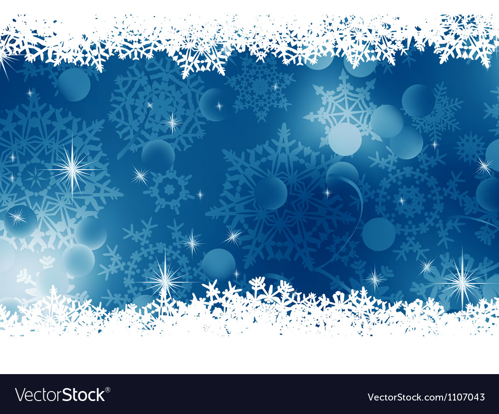 Blue christmas background eps 8 vector | Price: 1 Credit (USD $1)