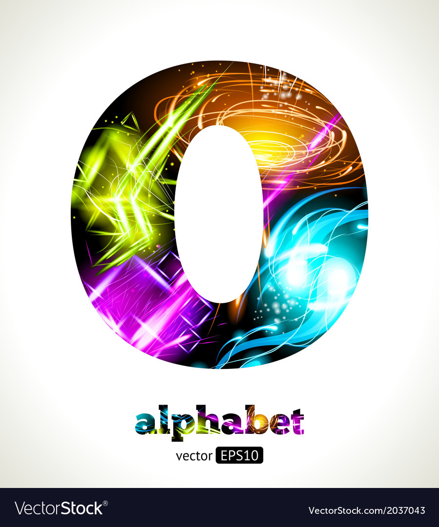 Design abstract letter o vector | Price: 1 Credit (USD $1)