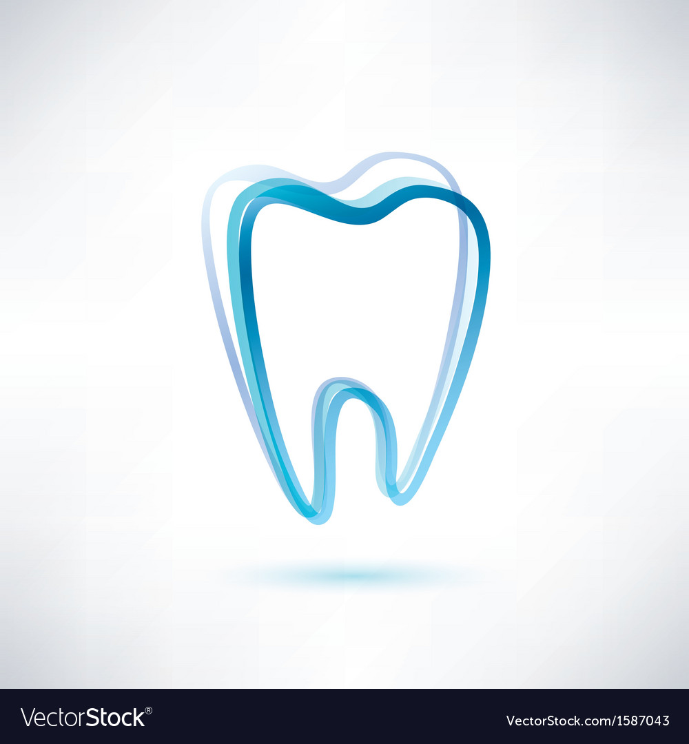 Tooth symbol vector | Price: 1 Credit (USD $1)