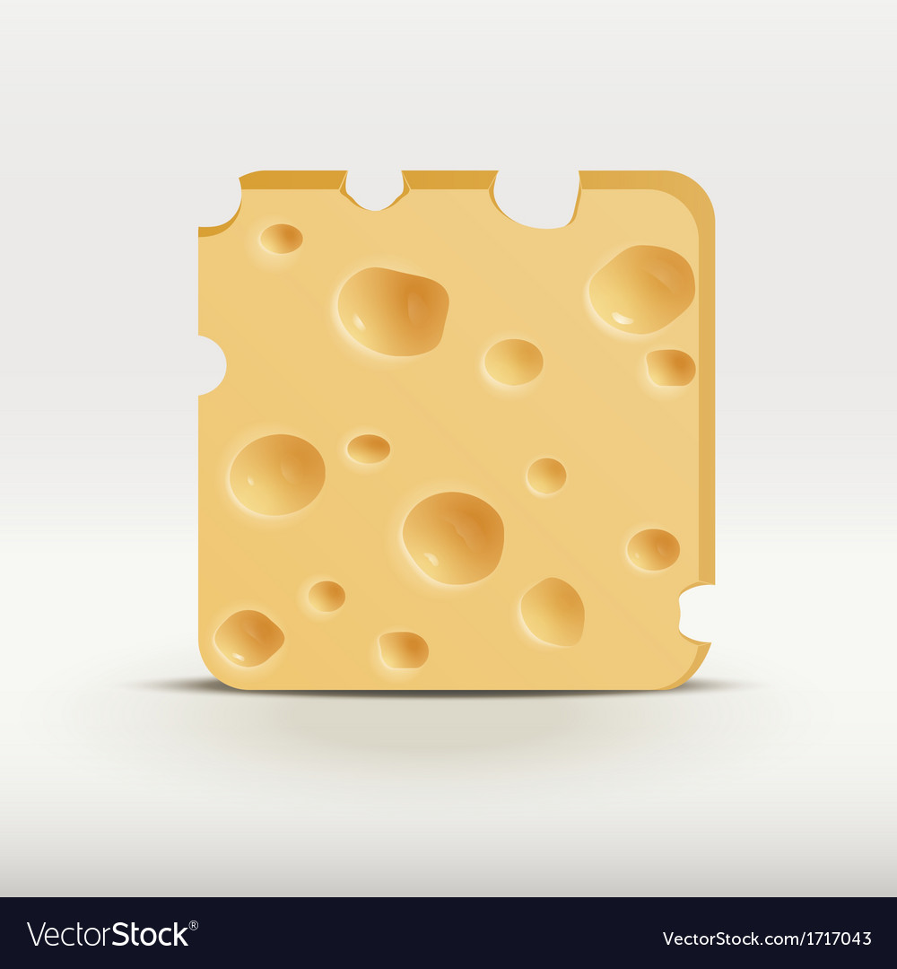 Web app icon of cheese vector | Price: 1 Credit (USD $1)
