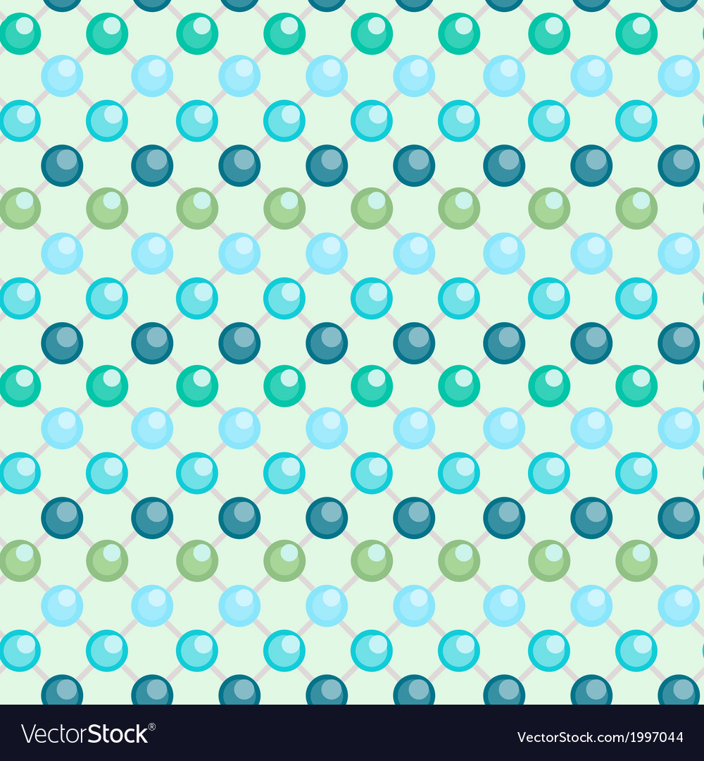 Beaded netting as seamless background vector | Price: 1 Credit (USD $1)