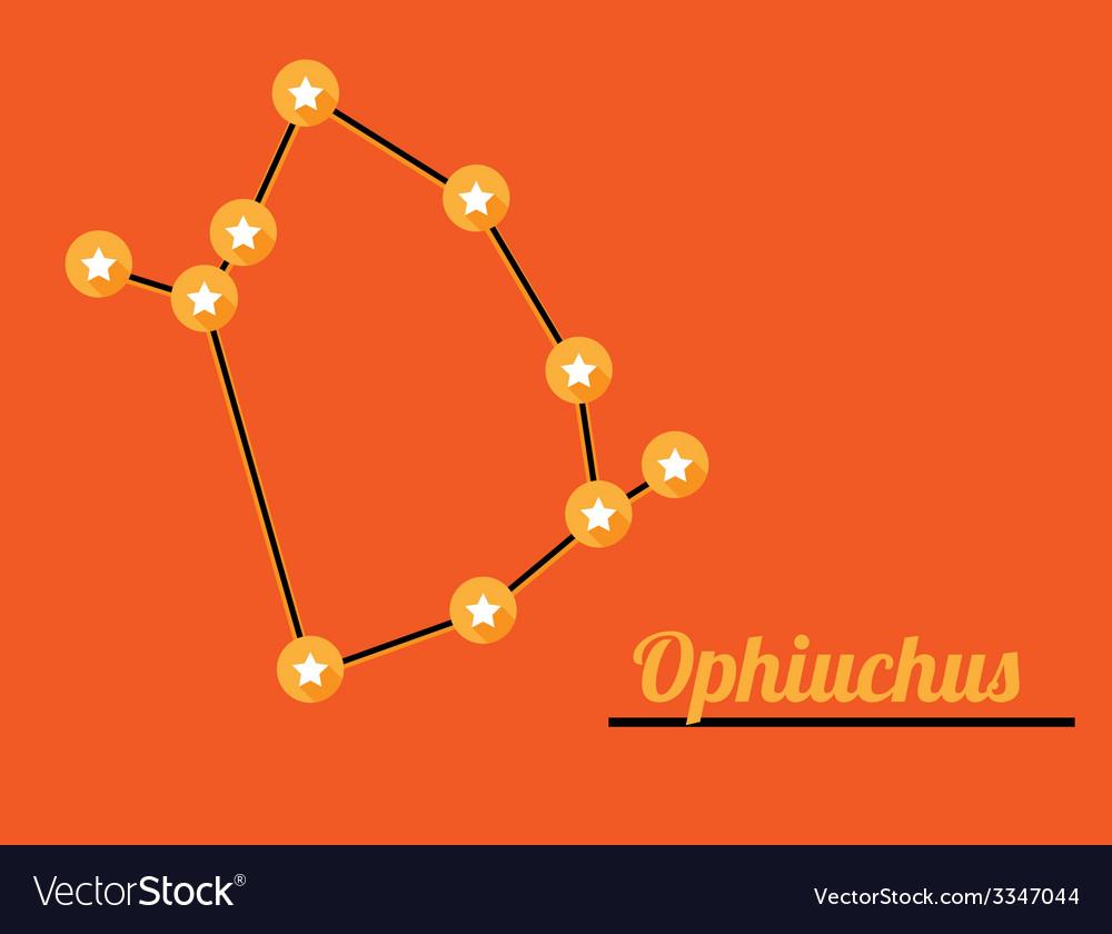 Constellation ophiuchus vector | Price: 1 Credit (USD $1)