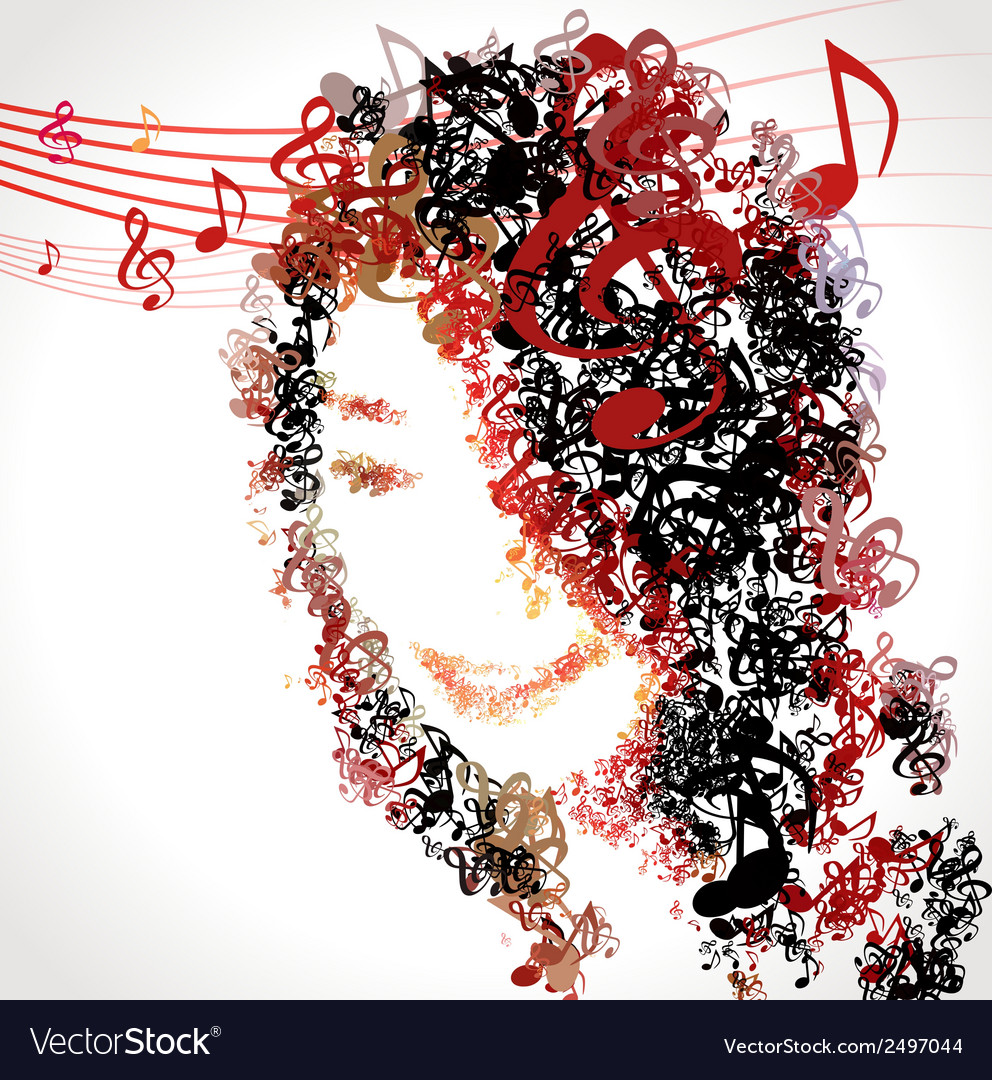 Enjoy music melody for life 02 vector | Price: 1 Credit (USD $1)