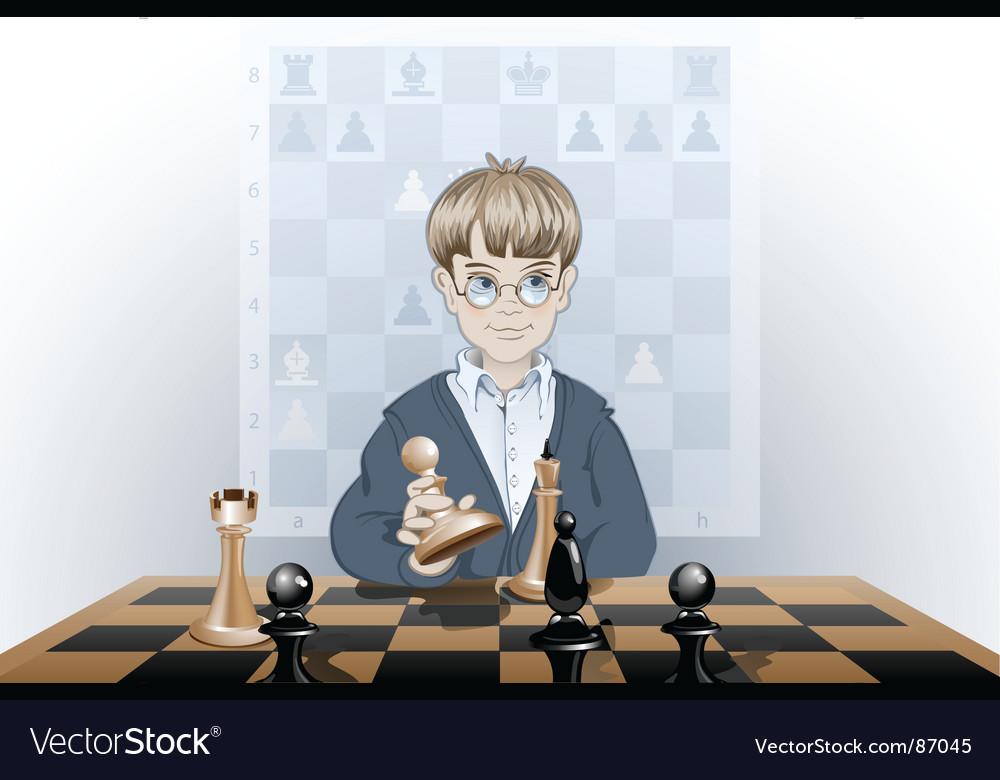 Clever boy vector   Price: 3 Credit (USD $3)