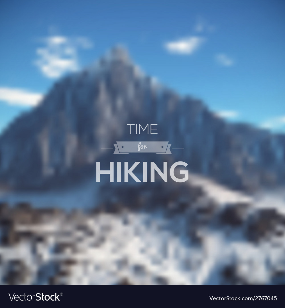 Mountain landscape minimalistic multifunctional vector | Price: 1 Credit (USD $1)