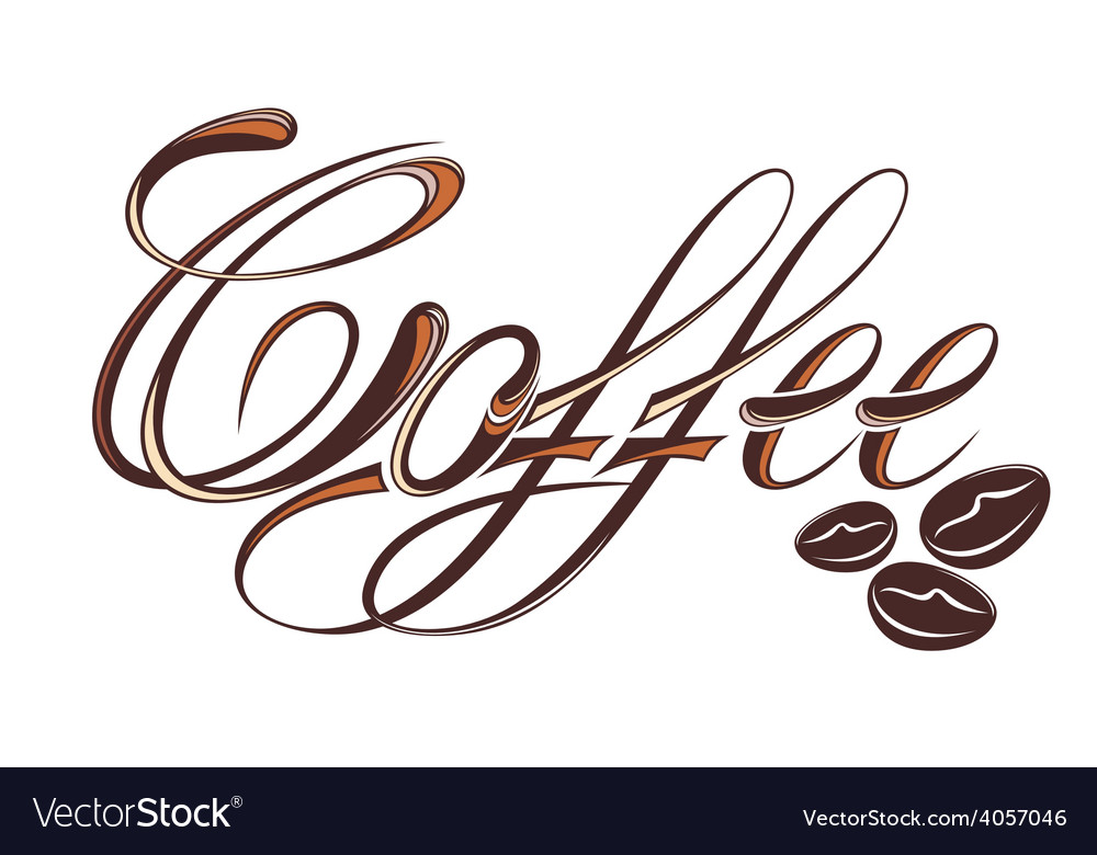 Coffee design template vector | Price: 1 Credit (USD $1)
