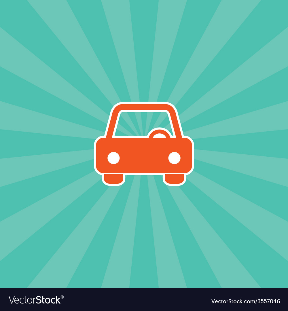 Vehicle icon vector | Price: 1 Credit (USD $1)