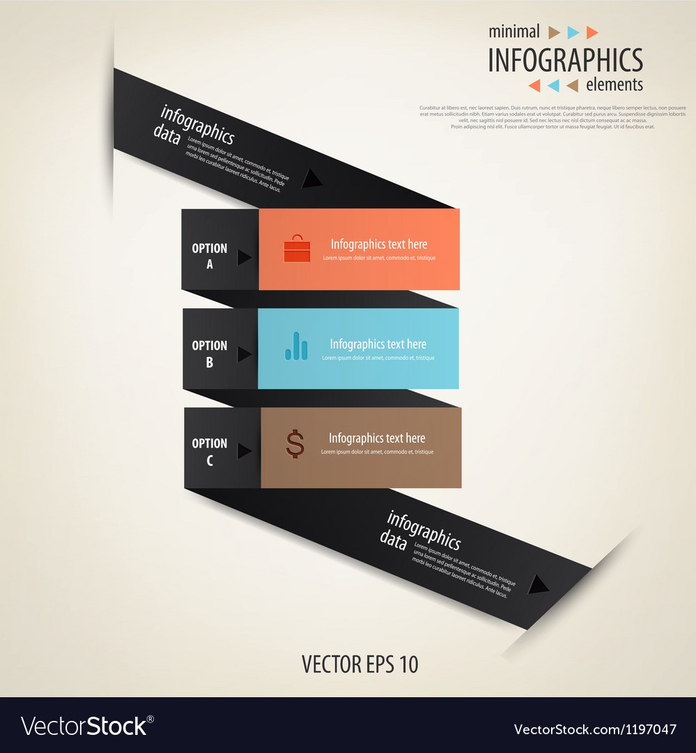 Infographics minimal 2 vector | Price: 1 Credit (USD $1)