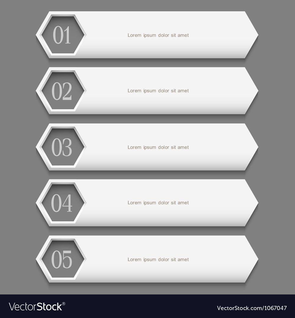 White stylish design template vector | Price: 1 Credit (USD $1)